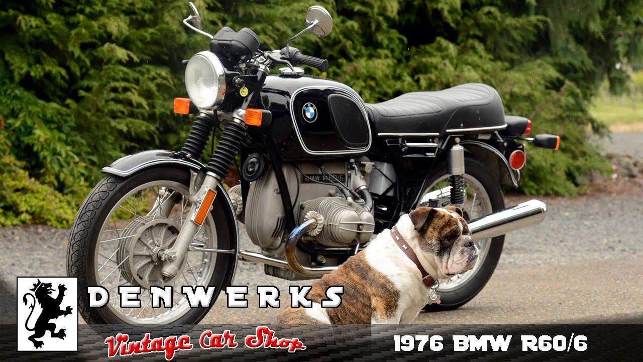 survivor 1976 bmw r60 6 motorcycle denwerks no reserve. Black Bedroom Furniture Sets. Home Design Ideas