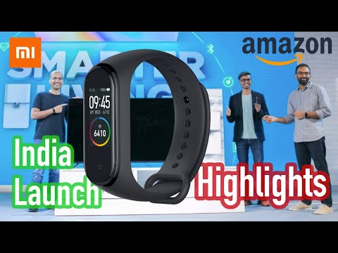 Mi Band 4 India Launch Event Highlights | Features Price & Sale Date