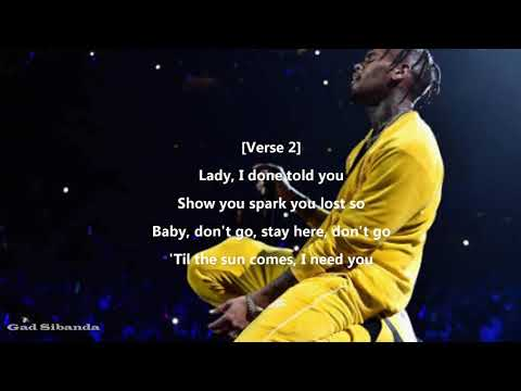 Chris Brown-Heartbreak on a full moon(Lyrics)