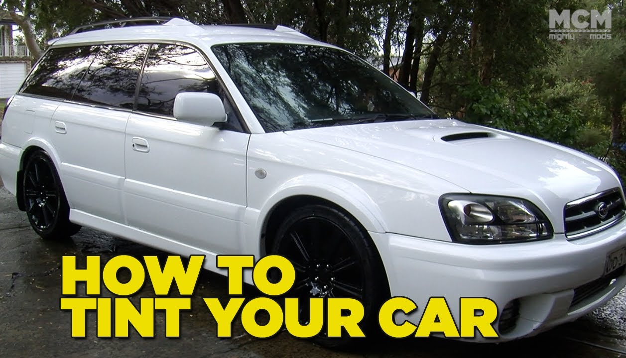 How to Tint Your Car