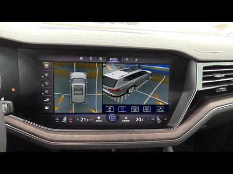 Система кругового обзора VW Touareg Bird View 360° HD, обзор, функции, особенности установки.