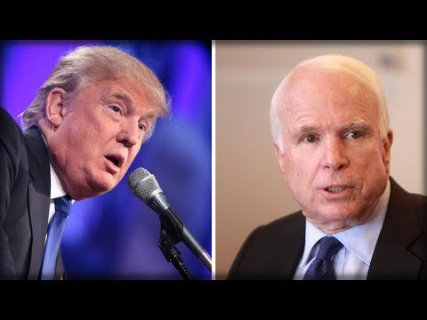 DISGRACE! RIGHT AFTER FIRST ROUND OF CHEMO, MCCAIN FANS THE FLAMES WITH DIRECT ASSAULT ON TRUMP