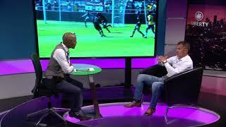 "Thomas Mlambo chat to Pirates Coach Milutin ""Micho""Sredojevic"