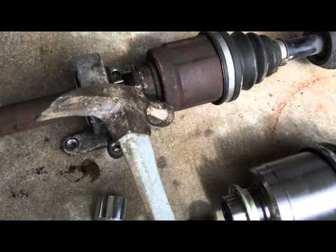 2004 Acura RSX intermediate shaft separated from CV axle