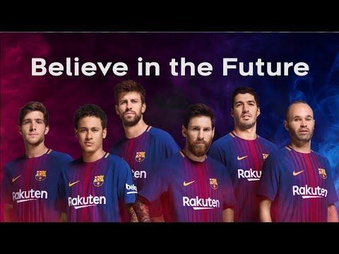 Rakuten employees meet FC Barcelona stars