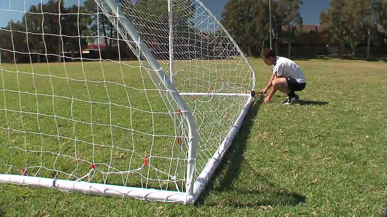 samba portable goal setup 5m x 2m youtube