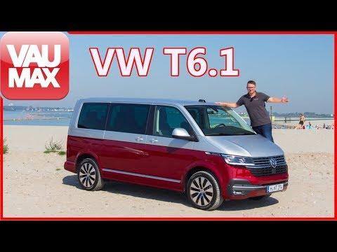 Das ist neu am VW T6.1 - NEUER Bulli im Check - VW T6 Facelift Fahrbericht