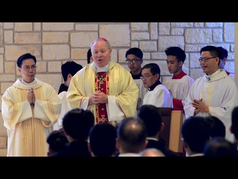 Giáo Xứ Thánh Giuse - Trường Thánh Tôma Thiện Grand Prairie, Texas - Lễ Thêm Sức 2017