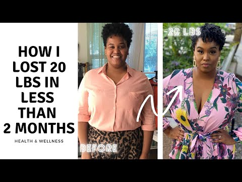 How I Lost 20+ Pounds In Less Than 2 Months | Health & Wellness