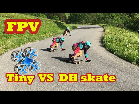 Фото FPV : DH skate vs tiny