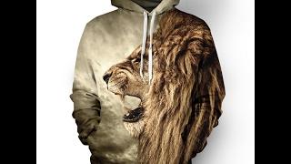 Lion Totem Vivid 3D Iconic Hoodie