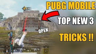 Pubg Mobile Top 3 New Secret Tricks In Hindi !! Season 9 Pubg Mobile Best Tricks In Hindi