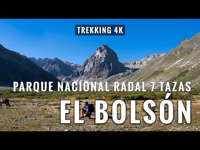 EL BOLSÓN : Trekking 23 Kms en Reserva Nacional 7 Tazas, Chile
