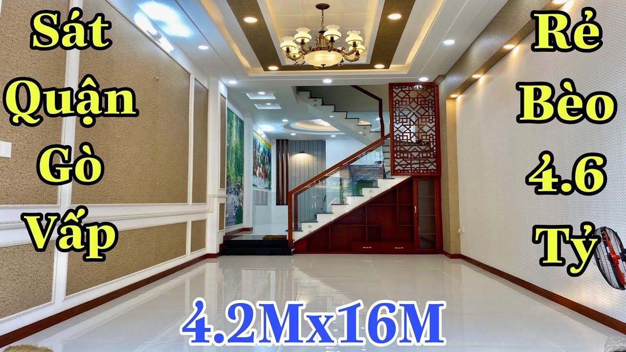 Bán nhà quận 12| Xem ngay nhà đẹp siêu đẳng cấp tại đường Lê Thị Riêng , P. Thới An| giá rẻ 4,6 tỷ