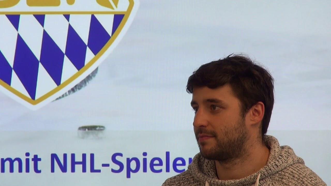 Robert Schroepfer im Interview mit NHL Spieler Tobias Rieder