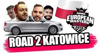 FORTUNA RAWTRIP - Katowice w/ Sa1na, Leško, Šangaj i Džaril EU MASTERS VLOG