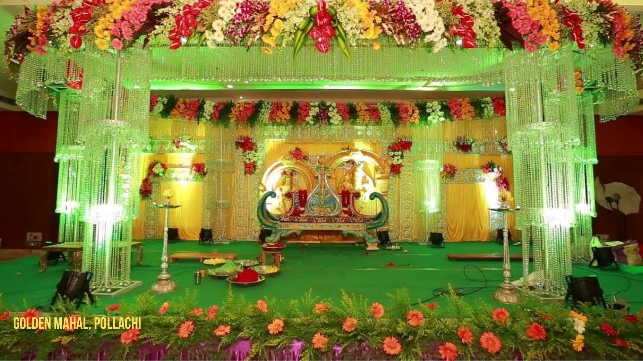 10 Indian Wedding Stage Decorations Youtube