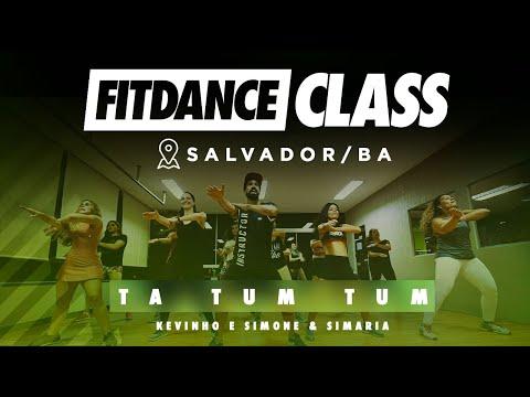 Ta Tum Tum - Kevinho e Simone & Simaria (Coreografia) - FitDance Class | FitDance TV