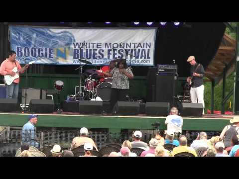 Diunna Greenleaf and Blue Mercy Live @ The White Mountain Boogie n' Blues Festival 8/17/13