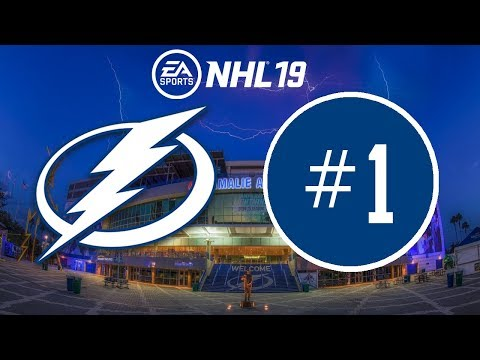 NHL 19 ~ Tampa Bay Lightning Franchise Mode ~ #1 (New Year, New Game)