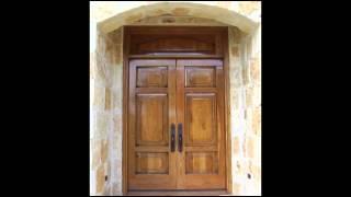 Дубовые двери от