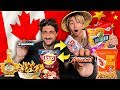Canadian And Asian SWAP SNACKS! *FOOD TASTE TEST*