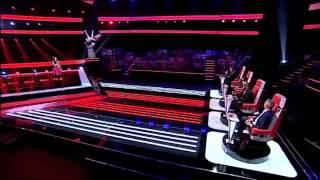 Шоу голос - перепели Queen! Carolina Santos- Love Of My Life- Queen