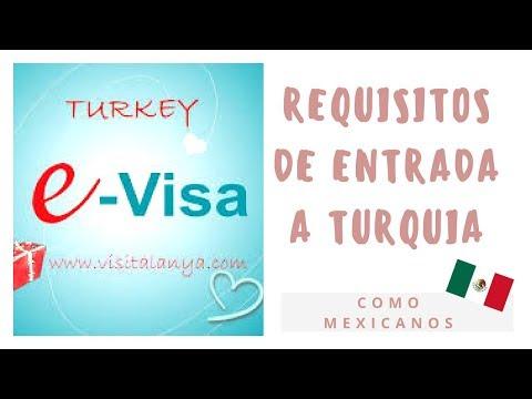 REQUISITOS DE ENTRADA A TURQUIA