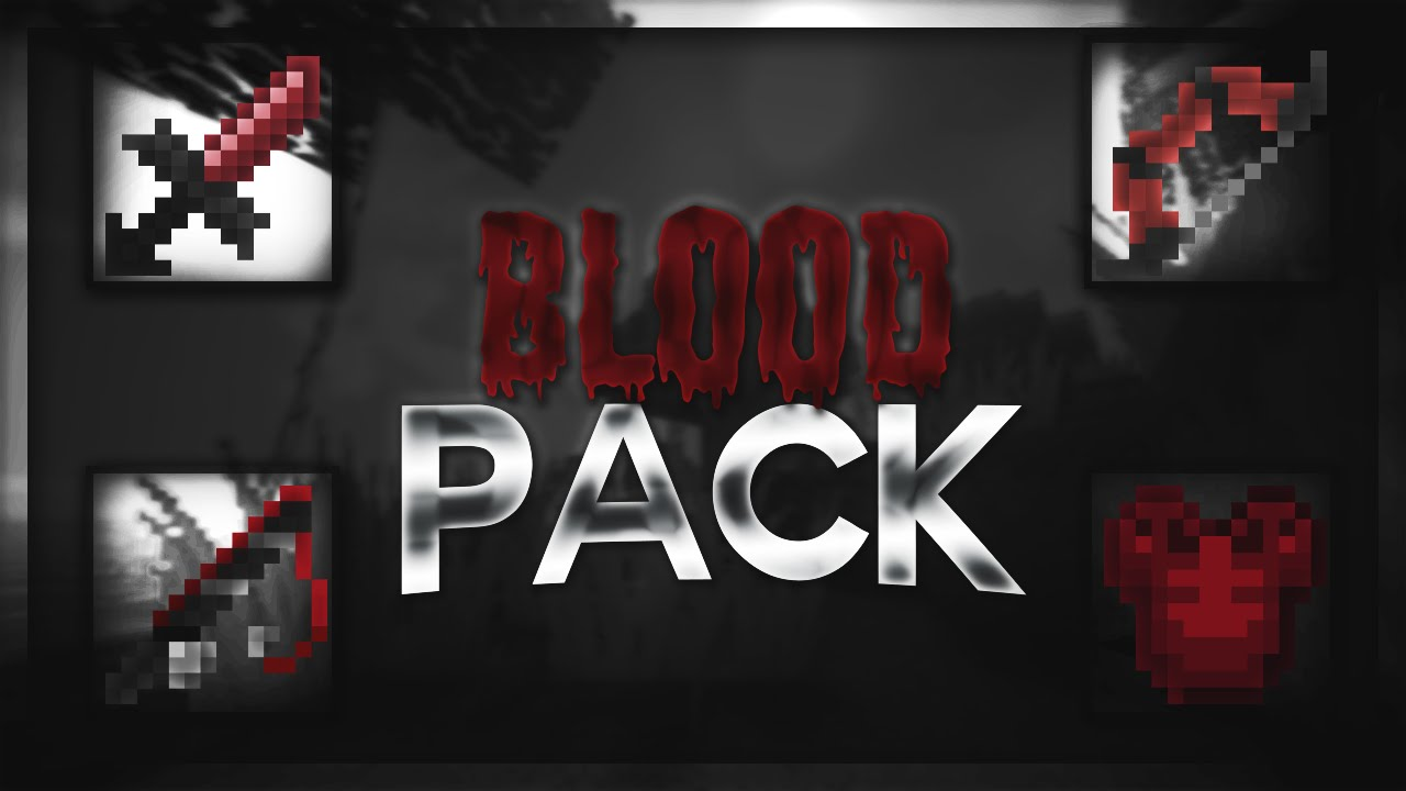 Minecraft Pvp Texture Pack Blood Pack By Itsmanu 1 7 1 8 Youtube Just like blood, bloodcraft resource pack features a dark tone, which is more enhanced than the usual seen in other minecraft texture packs. minecraft pvp texture pack blood pack by itsmanu 1 7 1 8