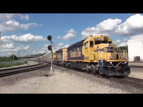Kansas City Area Rail Action July 2016