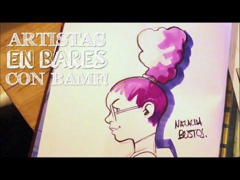 Artistas en bares con Bamf! | Natacha Bustos