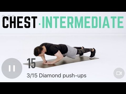 17Min Intermediate Chest Workout | Home Training with No Equipment Needed