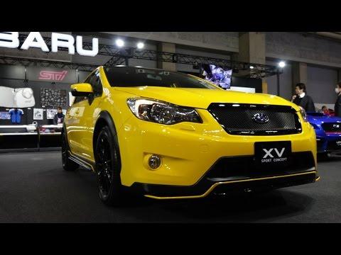 (4K)SUBARU XV SPORT CONCEPT - Osaka Auto Messe 2015 大阪オートメッセ2015