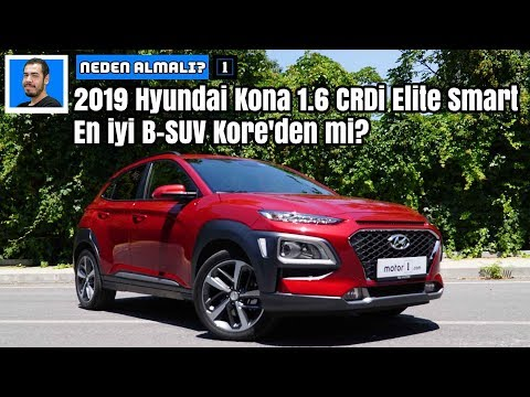 2019 Hyundai Kona 1.6 CRDi Elite Smart | En Iyi B-SUV Kore'den Mi? | Neden Almalı?