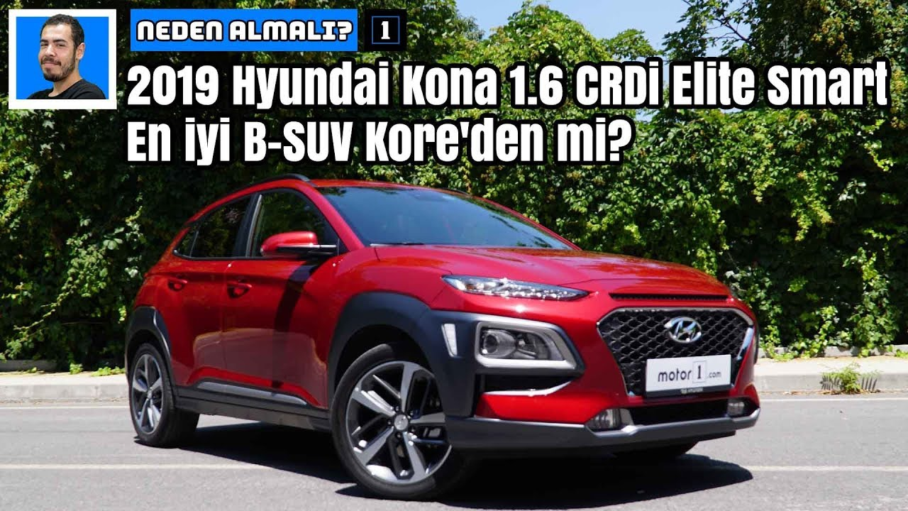 2019 hyundai kona 1 6 crdi elite smart en iyi b suv kore 39 den mi neden almal youtube. Black Bedroom Furniture Sets. Home Design Ideas