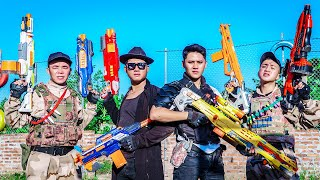 LTT Game Nerf War : Captain Warriors SEAL X Nerf Guns Fight Braum Crazy Hunt Perpetrator Of Theft