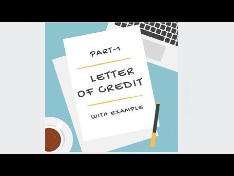 Letter of Credit with Example Part-1 [in Hindi]