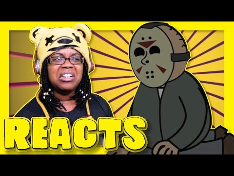 REACTING TO Friday the 13th: The Game PARODY Animation