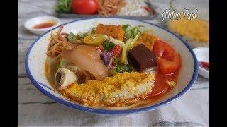 Bún riêu, không cần cua xay vẫn làm được riêu rất thơm béo và ngon đậm đà|| Natha Food