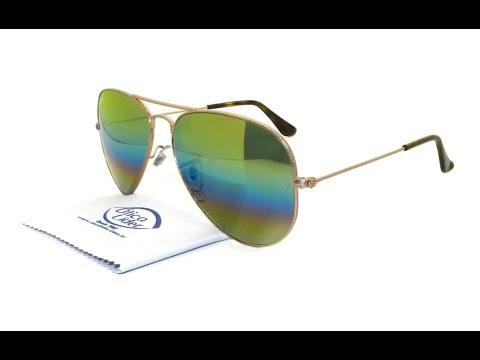 212cdd8bf ... low price Óculos de sol ray ban aviador degradê espelhado 3025 9020 c4  58 3143e b0dd6 ...