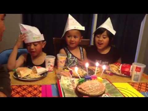 Dj's 4th birthday.