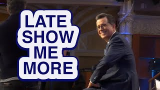 LATE SHOW ME MORE: Respect The Throne