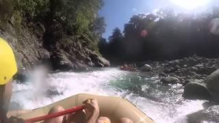 Quepos, Costa Rica (Naranjo River) Rafting - Class 4 and 5 rapids