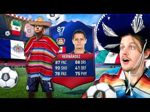 WE GOT HIM! RECORD BREAKER CHICHARITO! THE ULTIMATE JAVIER HERNANDEZ RECORD BREAKER SQUAD! FIFA 17