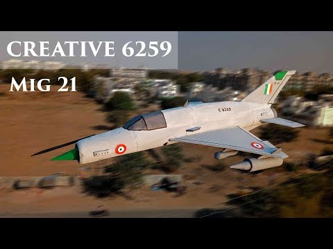 How To Make A Cardboard Airplane At Home | DIY Fighter Plane IAF MiG 21 (Easy & Step By Step)