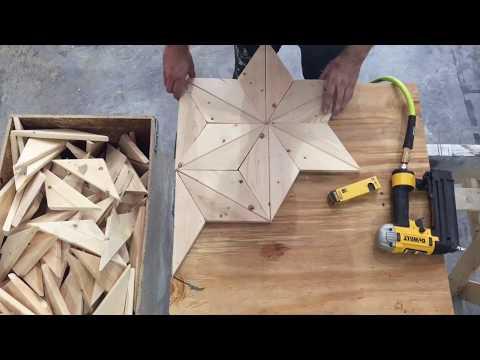 DIY Geometric Wood Pattern
