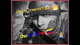 Como dibujo a Oscar Pérez - Speed drawing Oscar Pérez - Venezuela - Yiye
