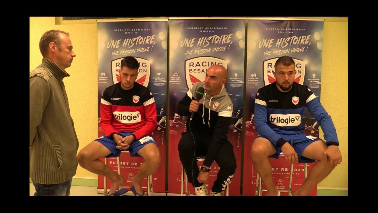 Racing Besançon - Morteau-Montlebon: Réactions d'après-match