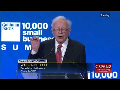 Warren Buffett – Advice for Entrepreneurs
