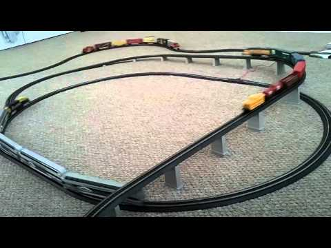 Modelling Railroad Train Scenery -V05 Life Like & Bachmann train sets